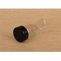 Quality Pepper Sifter Empty Clear Plastic Jars SGS Food Grade Spice Bottle for sale