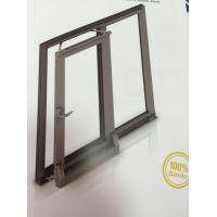 Wholesale Thermal Break Tilt and Sliding Aluminium Window Profiles with Brown Color from china suppliers