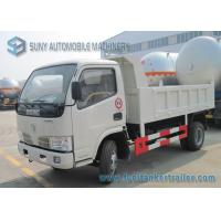 Buy cheap Dongfeng 2 Axles Small Dump Garbage Trucks 4x2 Drive 5 ton - 6 ton capacity from wholesalers