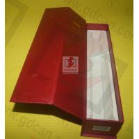 Wholesale Wine Recycled Paper Gift Boxe Packaging Red With Matt Lamination from china suppliers