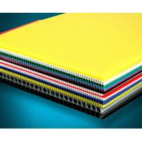 Wholesale Recyclable Coloured Corrugated Plastic Sheets Board for printing from china suppliers