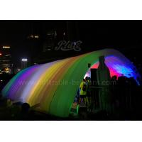 Wholesale LED Lighting Inflatable Event Tent 420D Oxford Cloth Inflatable Tunnel Tent from china suppliers
