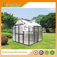 Wholesale 195X253X250CM Black Color Imperial Series Double Door Polycarbonate Greenhouse from china suppliers
