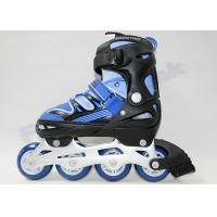 Wholesale LED Light PU Wheels Kids Adjustable Roller Skates for Beginner Skating Shoes from china suppliers