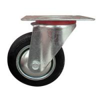 Quality Swivel PU Industrial Caster with Brake for sale