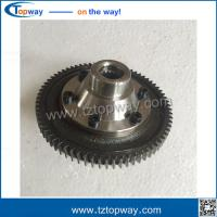 Wholesale India electric tricycle rickshaw spare parts differential gear 71teeth 16spline teeth from china suppliers