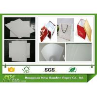 Wholesale 1260gsm / 2.0mm thicker Unbleached laminated Whiteboard Paper Sheets from china suppliers