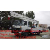 Wholesale Dongfeng Euro 3 170hp 18m-20m aerial working platform truck for sale, dongfeng 145 18m high altitude operation truck from china suppliers