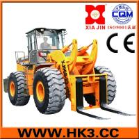Quality truck loader with bucket wheel loader use stone mining for sale