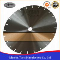 Wholesale Low Noise Saw Blade Blanks Power Tools Accessories For Cutting Granite / Marble 30CrMo Or 50Mn2V Material from china suppliers