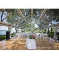 Wholesale Pretty Transparent Cover Outdoor Wedding Reception Marquee Solid Anodized Aluminum Profile from china suppliers