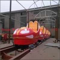 Wholesale 6 cars 12 seats Playground Kiddy Rides Motorless Slide Dragon Train Ride from china suppliers