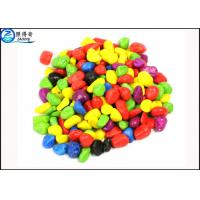 Wholesale Non-toxic Colorful Grass Cylinder Sand Stone / Pebbles For Aquarium Fish Tanks Decorations from china suppliers