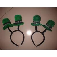 Wholesale New design hair accessories green magic hat derocation headbands for teen girls from china suppliers