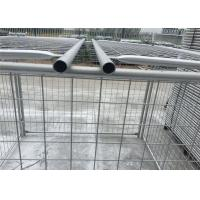 Wholesale Environmental Q235 Steel Weld / Chain Wire Trash Cage 1500mm X 2000mm from china suppliers