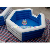 Kids inflatable water toys swimming pool inflatables square pool for backyard fun of item Square swimming pools for sale
