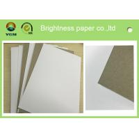 Wholesale White Backing Large Paper Board , Solid Bleached Sulfate Paperboard Antistatic from china suppliers