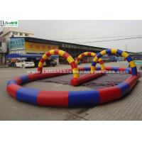 Wholesale Outdoor Race Track Inflatable Game For Karts N Zorb Balls Racing from china suppliers
