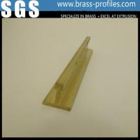 Wholesale Copper Extruding T Window Center Frame Decotive Brass T Sections from china suppliers