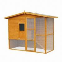 Wholesale Large Chicken Coop/House with Waterproof Roof and Painted Surface Finish from china suppliers