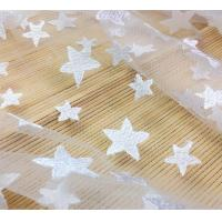 Wholesale Pentagram Qmilch  embroidered Lace Fabric , star lace fabric,Cotton Lace, Polyester Lace Fabric from china suppliers