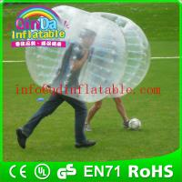 Wholesale human bubble ball  soccer bubble  inflatabe bumper ball price from china suppliers