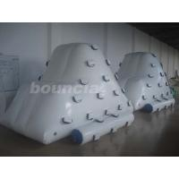 Wholesale 0.9mm PVC Tarpaulin Inflatable Iceberg / Inflatable Climbing Mountain For Family Pool from china suppliers