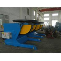 Wholesale Rotary And Tilting Manual Welding Positioners , 5000 kg Electric Rotary Welding Positioner from china suppliers