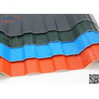Wholesale 1.13M Fixed Width PVC Corrugated Roofing Sheets Plastic Roof Panels With 5.6M Long from china suppliers