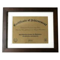 "Wholesale Black And White 11""x8 1/2"" Document Picture Frames , Certificate Photo Frame from china suppliers"