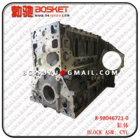 Wholesale NPR75 4HK1-TCS CYLINDER BLOCK ASM  8980467210 8-98046721-0 from china suppliers