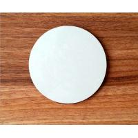 Wholesale Wholesale 10*10cm  Round Blank MDF coaster with white top for DIY printing artwork from china suppliers