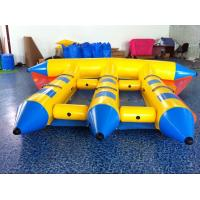 Wholesale Waterproof Safety PVC Inflatable Boat Towable Flying Banana Boat from china suppliers