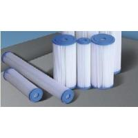 Wholesale High Water Flow Pleated Filer Cartridge (water filter, water purification) from china suppliers
