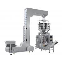 Wholesale Popcorn Integrated Packing Machine , Snack Food Packaging Equipment Multiple Heads Weigher from china suppliers