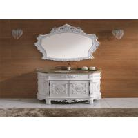Wholesale Antique Style Free Standing Bath Vanity Cabinets Funiture With Countertop And Sink from china suppliers