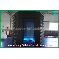 Wholesale 1 Door Diamond Oxford Cloth Inflatable Led Cube Photo Booth For Trade Show from china suppliers