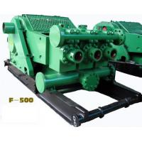 Wholesale API Oilfield F-500 Horizontal 3 cylinder single acti piston Drilling Mud PUMP with reliable quality & competitive price from china suppliers