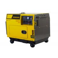 Wholesale Air-cooled Super Silent Diesel Generator Set 5kw , small diesel electric generator from china suppliers