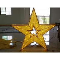 Wholesale led motif light star decoration for shopping mall from china suppliers
