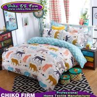 Wholesale Cartoon Leopard Design Soft Flat Sheets Pillowcases Duvet Covers from china suppliers
