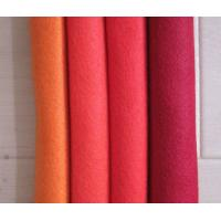 Wholesale 1mm 3mm 5mm polyester felt hotsale needle punched felt ,polyester fabric in 100% polyester fabric from china suppliers