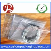 Quality Transparent Plastic PVC Ziplock Custom Packaging Bag  For Jewelry Packing for sale