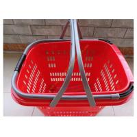 Wholesale Duralumin Pull Rod Virgin Wheeled Shopping Baskets Shopping Trolley On Wheels from china suppliers