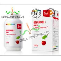 Wholesale Fruit Vitamin Bottle Medicine Packaging Box CMYK Color Printing Cardboard from china suppliers