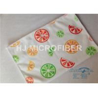 Wholesale Streak Free Printed Microfiber Cloth Absorbent 40 x 60cm , Car Microfiber Cloth from china suppliers