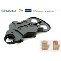 Wholesale Injection Mold Inserts Plastic Polypropylene Cover + Brass Insert Moulding from china suppliers
