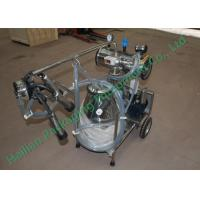Wholesale Small Cattle Mobile Milking Machine Hand Operated Sucking Milk from china suppliers
