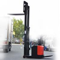 Wholesale Electric forklift electric reach stacker with lift height 3000mm from china suppliers