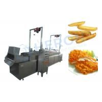 Wholesale Electric Heating Automatic Fryer Machine , Deep Fried Dough Sticks Production Line from china suppliers